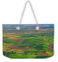 Rolling Green Hills Of The Palouse Weekender Tote Bag by James Hammond