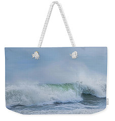 Weekender Tote Bag featuring the photograph Rolling In by Robin-Lee Vieira