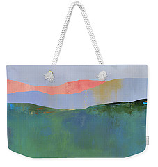 Rolling Mountains Weekender Tote Bag by Jacquie Gouveia