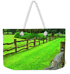 Rolling Rock Bridle Trail 2 Weekender Tote Bag
