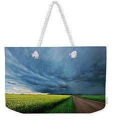 Rolling Storm Weekender Tote Bag
