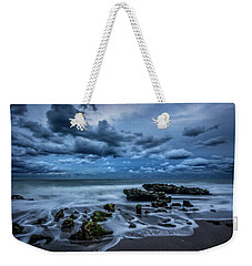 Weekender Tote Bag featuring the photograph Rolling Thunder by Debra and Dave Vanderlaan