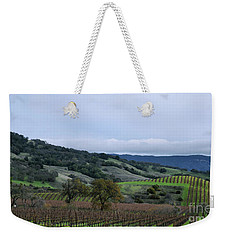 Rolling Vineyards Weekender Tote Bag