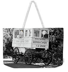 Roman Candy - Bw Weekender Tote Bag