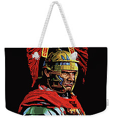 Roman Centurion Portrait Weekender Tote Bag