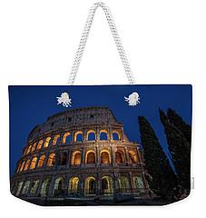 Roman Coliseum In The Evening  Weekender Tote Bag