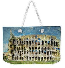 Roman Holiday Weekender Tote Bag