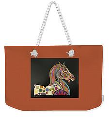 Roman Horse Weekender Tote Bag