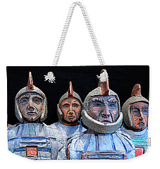 Roman Warriors - Bust Sculpture - Roemer - Romeinen - Antichi Romani - Romains - Romarere Weekender Tote Bag