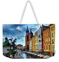 Romance In Krakow Weekender Tote Bag by Kasia Bitner