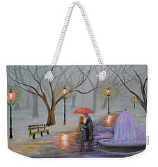 Romance In The Park Weekender Tote Bag