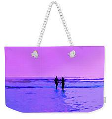 Romance On The Beach Weekender Tote Bag