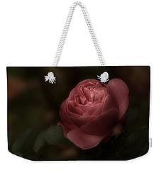 Romantic Autumn Rose Weekender Tote Bag