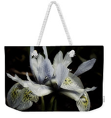 Romantic Dwarf Iris Weekender Tote Bag by Richard Cummings