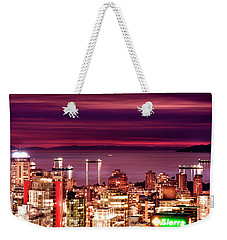 Romantic English Bay Weekender Tote Bag