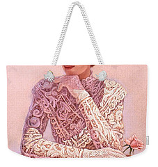 Romantic Lady Weekender Tote Bag
