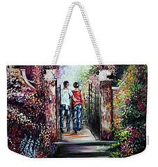 Romantic Landscape Weekender Tote Bag