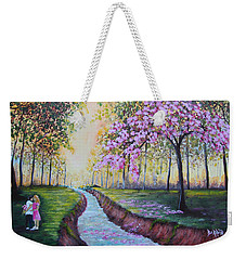 Romantic Moment Weekender Tote Bag