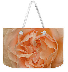 Weekender Tote Bag featuring the photograph Romantic Rose by Jacqi Elmslie