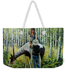 Romantic Summer Weekender Tote Bag