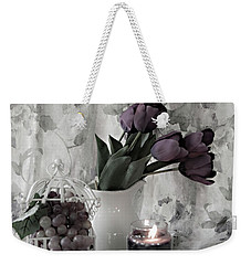 Weekender Tote Bag featuring the photograph Romantic Thoughts by Sherry Hallemeier