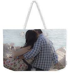 Romantic Whispers Weekender Tote Bag
