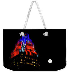 Weekender Tote Bag featuring the photograph Romare Bearden Park In Charlotte 2 by Serge Skiba