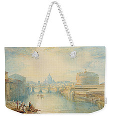 Rome Weekender Tote Bag by Joseph Mallord William Turner