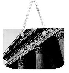 Rome - The Pantheon Weekender Tote Bag by Andrea Mazzocchetti