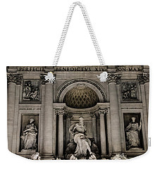 Rome - The Trevi Fountain At Night 3 Weekender Tote Bag