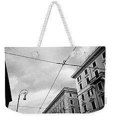 Rome's Downtown Cable Sky Weekender Tote Bag
