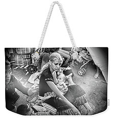 Roms De France 1,black And White  Weekender Tote Bag