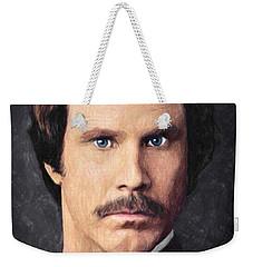 Ron Burgundy Weekender Tote Bag
