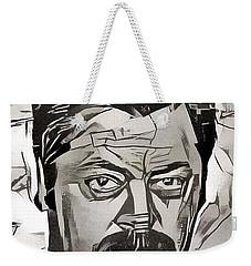 Ron Swanson Weekender Tote Bag by Paul Van Scott