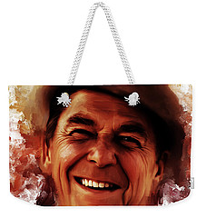 Ronald Reagan  Weekender Tote Bag
