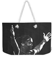 Ronaldinho Weekender Tote Bag by Semih Yurdabak
