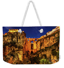 Ronda By Night Weekender Tote Bag