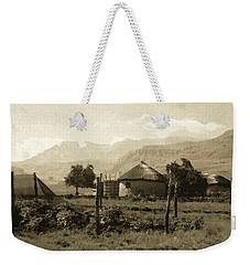 Rondavel In The Drakensburg Weekender Tote Bag