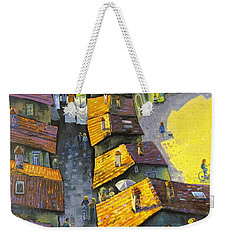 Rooftops Weekender Tote Bag by Mikhail Zarovny