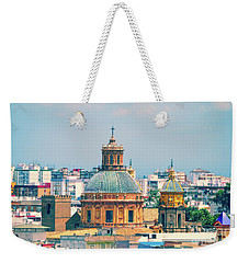 Weekender Tote Bag featuring the photograph Rooftops Of Seville - 1 by Mary Machare