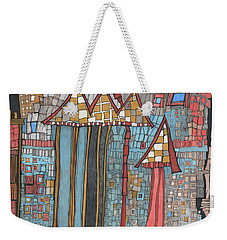 Dilapidated World Weekender Tote Bag by Sandra Church