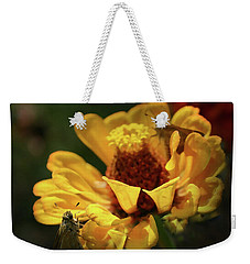 Weekender Tote Bag featuring the digital art Room For More by Kim Henderson