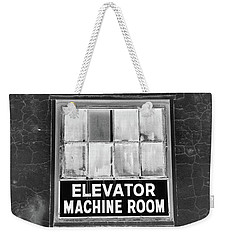 Weekender Tote Bag featuring the photograph Room by Robert Geary