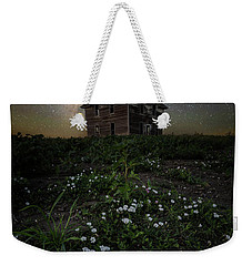 Weekender Tote Bag featuring the photograph Room With A View by Aaron J Groen