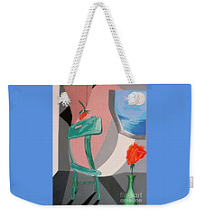 Room With A View #1 Weekender Tote Bag