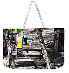 Weekender Tote Bag featuring the photograph Rooms Available by Lawrence Burry