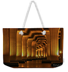 Roosevelt Night Shot Weekender Tote Bag