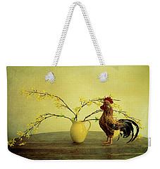 Rooster At Sunrise Weekender Tote Bag