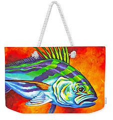 Rooster Fish Weekender Tote Bag