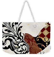Roosters Of Paris II Weekender Tote Bag by Mindy Sommers